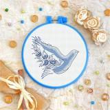 Cross stitch kit «T-0080 Dove of Peace»