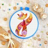Cross stitch kit «T-0153 Color Kitty»