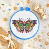 Cross stitch kit «T-0175 Mandala Butterfly»