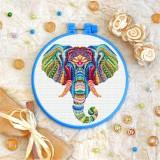 Cross stitch kit «T-0185 Mandala Elephant»