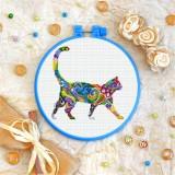Cross stitch kit «T-0218 Mandala Cat»