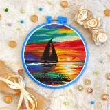 Cross stitch kit «T-0229 Sea Sunset»