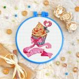Cross stitch kit «T-0324 Love Cake»
