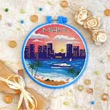 Cross stitch kit «T-0413 Miami»