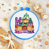 Cross stitch kit «T-0423 Brussels»