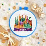 Cross stitch kit «T-0443 Spain»