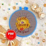 Cross stitch pattern «pdf-T-0005 Good Morning Sunshine»