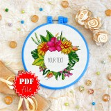 Cross stitch pattern «pdf-T-0075 Write Your Text Here»