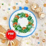 Cross stitch pattern «pdf-T-0363 Vegetables»
