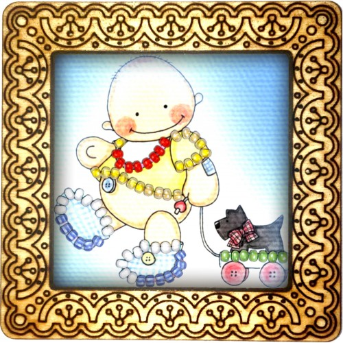 Magnet bead embroidery kit «M-0063 Toys Marching»