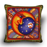 Pillow cross stitch kit «H-0030 Magisterial Moon»