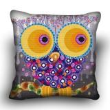 Pillow cross stitch kit «H-0040 Outlandish Owl»