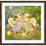 Bead embroidery kit «A-0056 Easter Celebration»