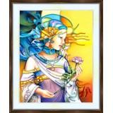 Bead embroidery kit «A-0196 Caroline»