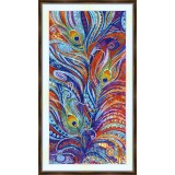 Bead embroidery kit «A-0357 Swirls of Light»
