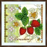 Bead embroidery kit «A-0427 Strawberry»