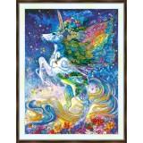 Bead embroidery kit «A-0457 Unicorn Dreams»