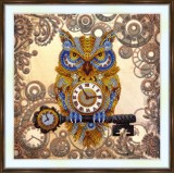 Bead embroidery kit «A-0524 The Time Keeper»