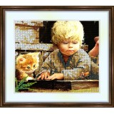 Bead embroidery kit «K-0105 Studying the Bug»