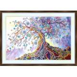 Bead embroidery kit «K-0166 Tree of Life»