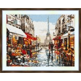 Cross stitch kit «S-0033 Paris View of the Tower»