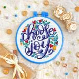 Cross stitch kit «T-0021 Choose Joy 1»