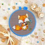 Cross stitch kit «T-0031 Foxie Lad»