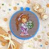 Cross stitch kit «T-0061 Lilac Love»
