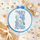 Cross stitch kit «T-0091 Blue Birdie»