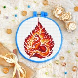 Cross stitch kit «T-0165 Autumn Fox»