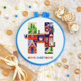 Cross stitch kit «T-0216 Home Sweet Home»