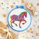 Cross stitch kit «T-0219 Mandala Horse»
