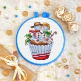 Cross stitch kit «T-0275 Christmas Cake»