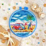 Cross stitch kit «T-0315 Love VW»