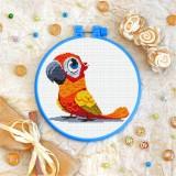 Cross stitch kit «T-0361 Orange Parrot»