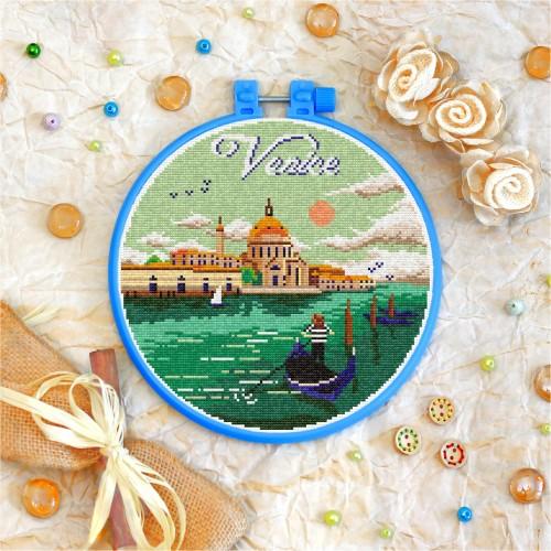 Cross stitch kit «T-0414 Venice»