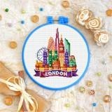 Cross stitch kit «T-0434 London»