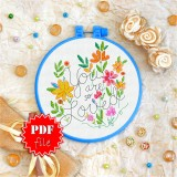 Cross stitch pattern «pdf-T-0086 You Are so Loved»