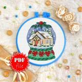 Cross stitch pattern «pdf-T-0323 Magical Ball»
