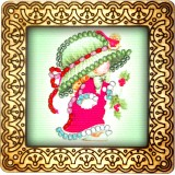 Magnet bead embroidery kit «M-0074 See my Nightgown»