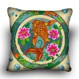 Pillow cross stitch kit «H-0041 Charmed Catfish»