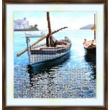 Bead embroidery kit «A-0117 Peaceful Harbor»