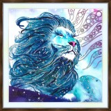 Bead embroidery kit «A-0388 Magical Lion»