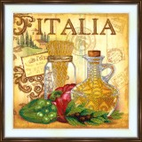 Bead embroidery kit «A-0408 Italia»