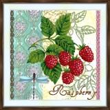 Bead embroidery kit «A-0428 Raspberry»