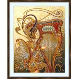 Bead embroidery kit «A-0462 Harp's Song»