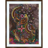 Bead embroidery kit «A-0472 Trumpeting to the Stars»
