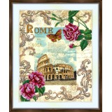 Bead embroidery kit «A-0482 Ancient Rome»