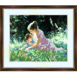 Bead embroidery kit «K-0096 Meadow Explorations»