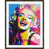 Cross stitch kit «S-0013 Marilyn Monroe»